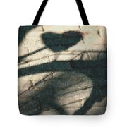 Shadow Heart Pastel Chalk 2 Tote Bag