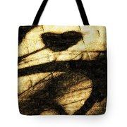 Shadow Heart Tinted Copper Tote Bag