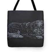 Shadow Tote Bag by Michele Myers