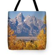 Shadow Mountain Grand Teton National Park Tote Bag