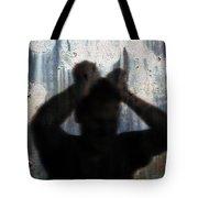Shadow Of A Man Tote Bag
