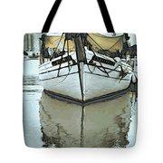 Shadow Of Boat Tote Bag