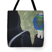 Shadow Of Fear Tote Bag