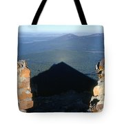 M-05715-shadow Of Mt. Mcloughlin Tote Bag