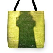 Shadow Of Tybee Lighthouse Tote Bag