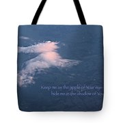 Shadow Of Your Wings Tote Bag by Kume Bryant