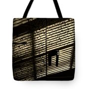 Shadow Patterns Tote Bag