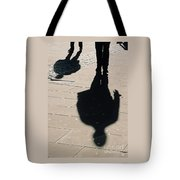 Shadow People In London # 2 Tote Bag