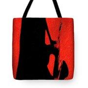 Shadow Sax Tote Bag