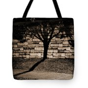 Shadow Tree Tote Bag