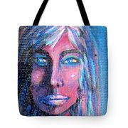 Shadow Woman Tote Bag