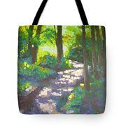 Shadowed Path Tote Bag