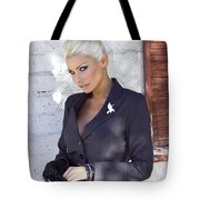 Shadowing Madaleine Palm Springs  Tote Bag by William Dey