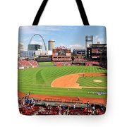 Shadows At Busch Tote Bag
