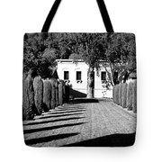 Shadows At Clos Pegase Winery Tote Bag