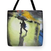 Shadows In The Rain Tote Bag