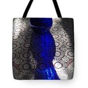 Shadows Of Cobalt Tote Bag