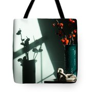 Shadows Of Fall Tote Bag