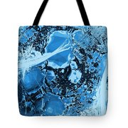 Shadows Under Ice Tote Bag