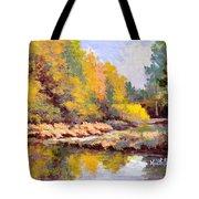 Shadowy Creek Tote Bag