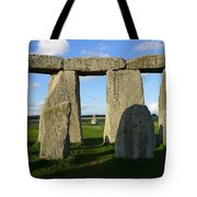 Shadowy Stonehenge Tote Bag
