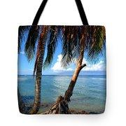 Shady Palm Beach Tote Bag