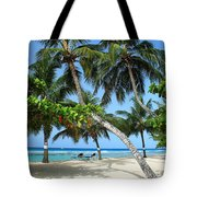 Shady Palms Tote Bag