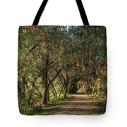 Shady Path Tote Bag