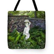 Shady Perennial Garden Tote Bag
