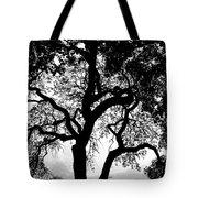 Shady Silhouette Tote Bag