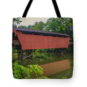 Shaeffer Or Campbell Covered Bridge Tote Bag