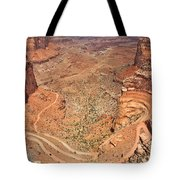 Shafer Trail Tote Bag by Adam Romanowicz