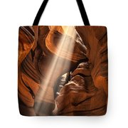 Shaft Of Light Tote Bag