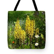 Shafts Of Yellow Tote Bag
