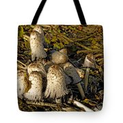 Shaggy Ink Caps - Coprinus Comatus Tote Bag