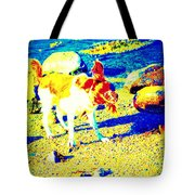 You Can Shake It Baby, So Shake Your Head And Laugh Out Loud  Tote Bag