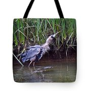 Shaken It Big Blue Tote Bag