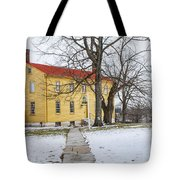 Shaker House - Mustard Tote Bag