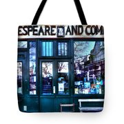 Shakespeare And Company Paris France Tote Bag