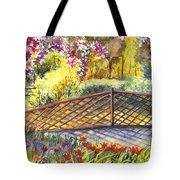Shakespeare Garden Central Park New York City Tote Bag by Carol Wisniewski