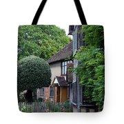 Shakespeare's Back Garden Tote Bag