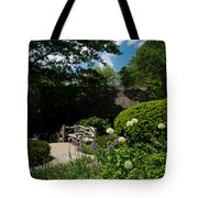 Shakespeares Garden Central Park Tote Bag