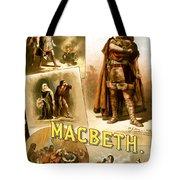 Shakespeare's Macbeth 1884 Tote Bag
