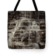 Shale Waterfalls Cascade Tote Bag