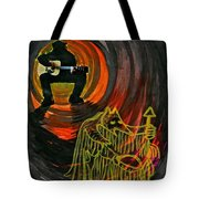 Shaman Blues Tote Bag