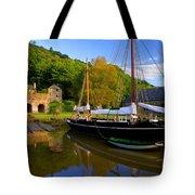Shamrock Barge Tote Bag