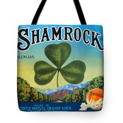 Shamrock Crate Label Tote Bag