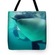 Shamu Was  1965-1971 Orca Sea World California 1968 Tote Bag
