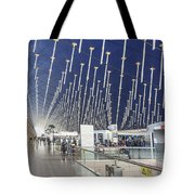 Shanghai Pudong Airport In China Tote Bag