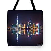 Shanghai Reflections Tote Bag